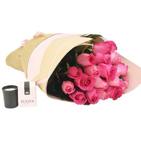 Classic pink rose bouquet mightylinksfo