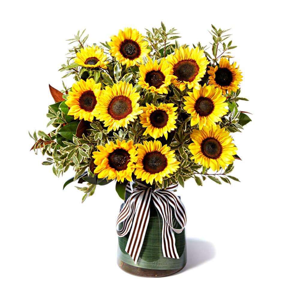 Classic Sunflower Vase