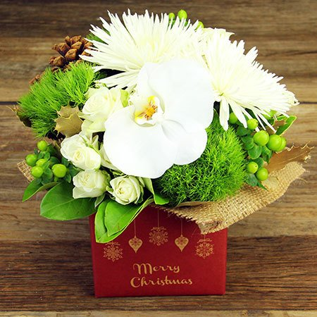 Classic Xmas Flower Box (Sydney Only)