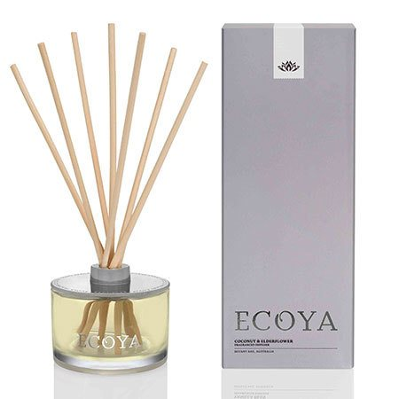 Coconut & Elderflower Ecoya Reed Diffuser