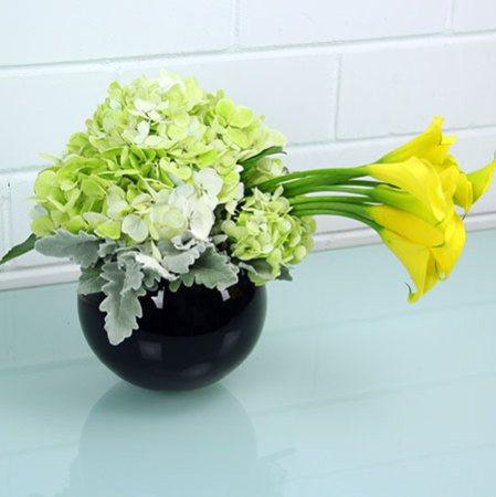 Compact & Modern Fishbowl Vase