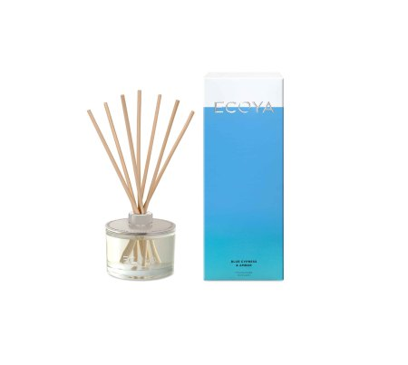 DECORT07 Ecoya Reed Diffuser - Blue Cypress and Amber