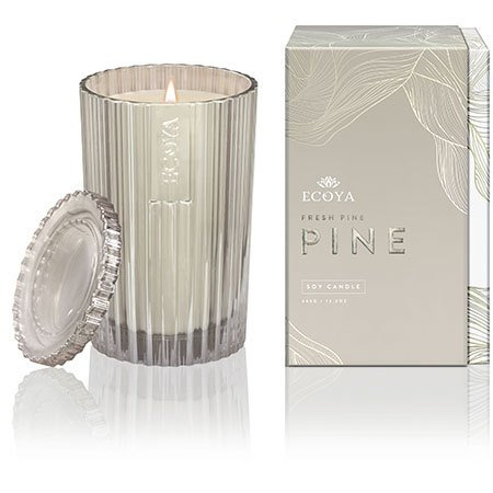 Ecoya Limited Edition Fresh Pine Christmas Candle