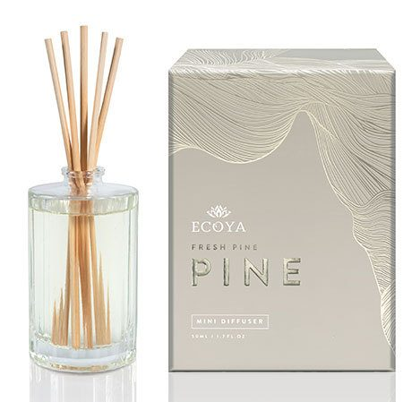 Ecoya Limited Edition Fresh Pine Mini Reed Diffuser