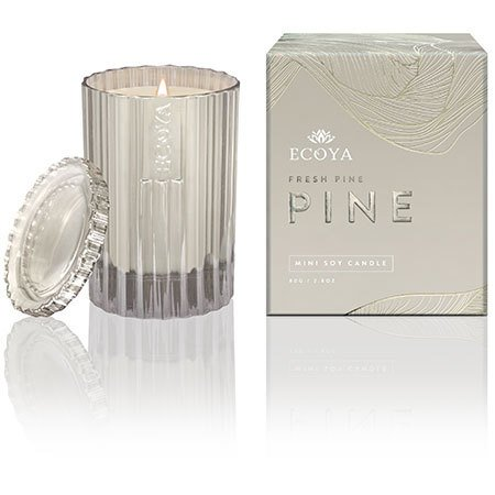 Ecoya Limited Edition Fresh Pine Mini Xmas Candle