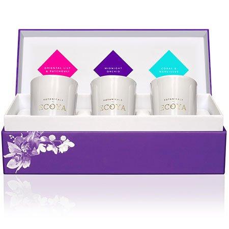 Ecoya Mini Botanic Jar Candle Gift Set
