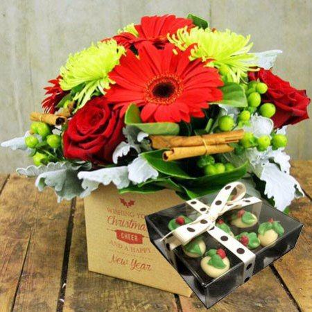 Festive Flowers and Xmas Chocolates (Sydney Only)
