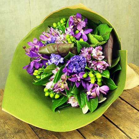 Fragrant Hyacinth Posy Winter Special