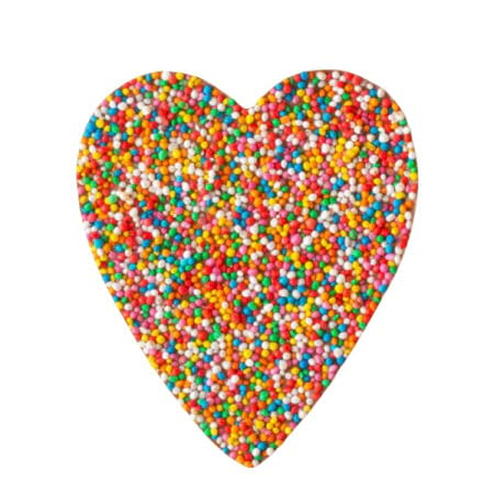 Freckle Milk Chocolate Heart