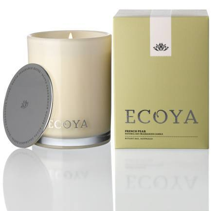 French Pear Ecoya Madison Jar Candle (80 hr burn)