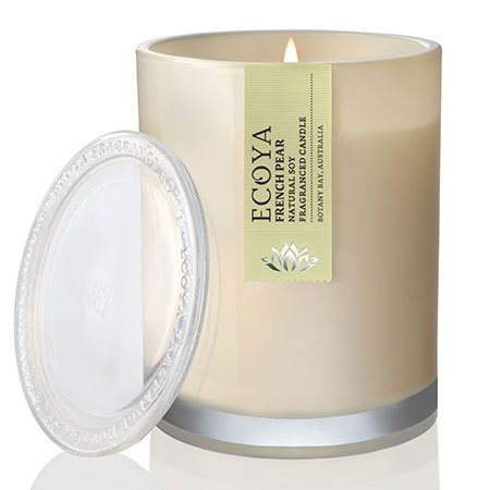 Lotus Flower Soy Wax Ecoya Candle (55 hr burn)