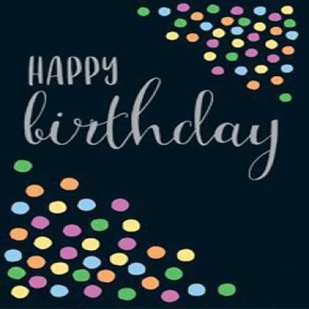 Gift Card Happy Birthday Spots
