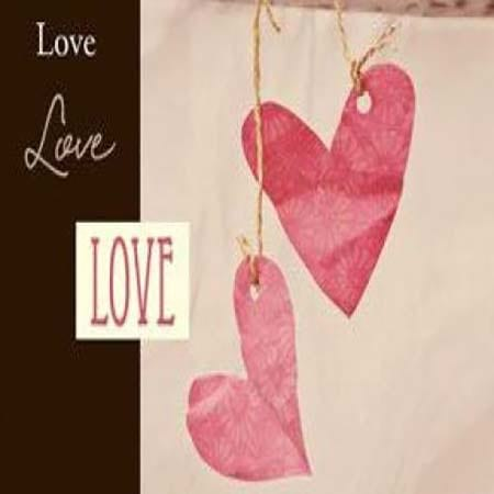 Gift Card Pink Love Heart