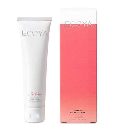 Guava and Lychee Sorbet ECOYA Hand Cream 100ml (Sydney Only)