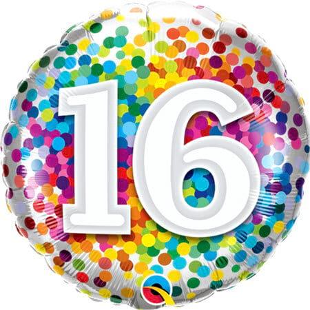 Happy 16th Birthday Balloon