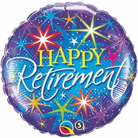 Happy Retirement Balloon