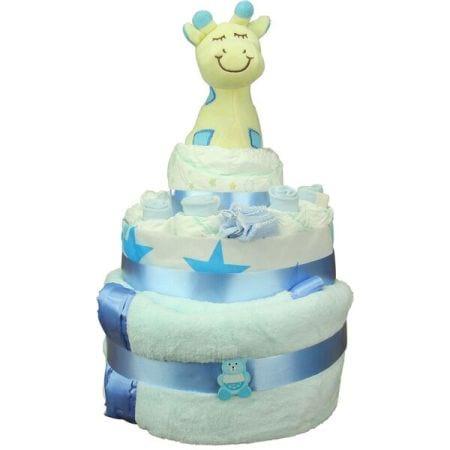 HOS-BLUECAKE - Blue Nappy Cake