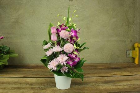 HOS-PASTVASE - Pastel Vase
