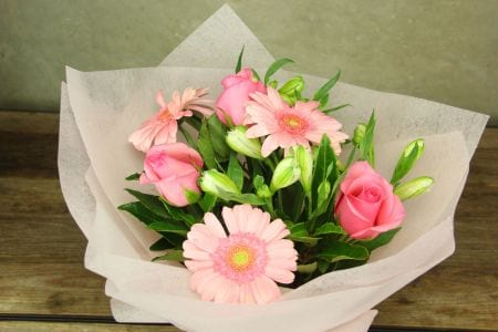 HOS-PINKBOU - Mixed Pink Bouquet