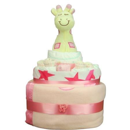 HOS-PINKCAKE - Pink Nappy Cake