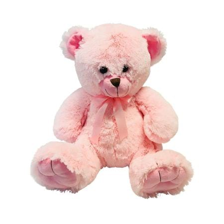 HOS-PINKTEDSMALL - Pink Teddy Bear Small