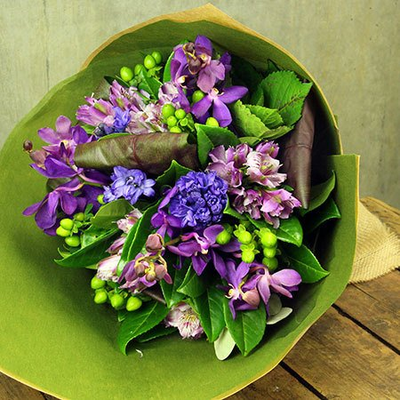 Hyacinth Winter Posy