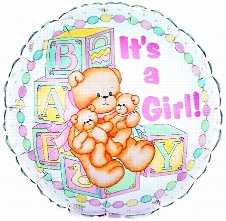 Its a Girl! balloon
