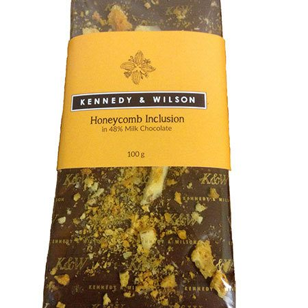Kennedy & Wilson Milk Chocolate & Honeycomb Shard Bar (100g)