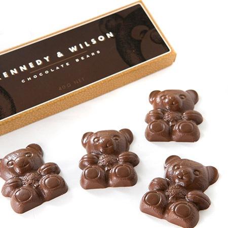 Kennedy & Wilson Milk Chocolate Teddy Bears (40g) - Sydney And Brisbane Only
