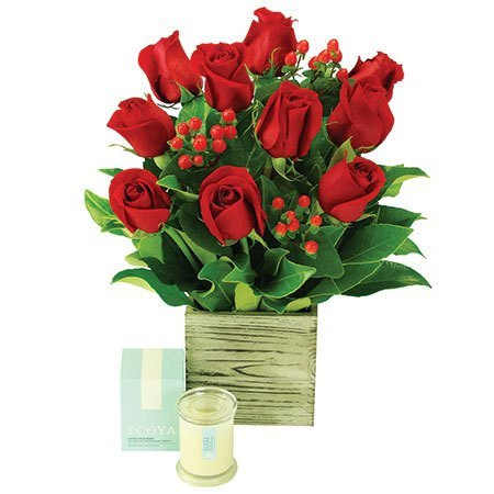 Little Box of Love - 10 Red Roses (Sydney Only)