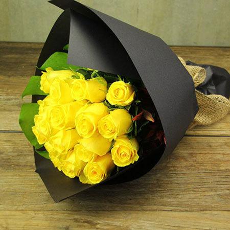 Little Miss Sunshine Rose Bouquet Delivered