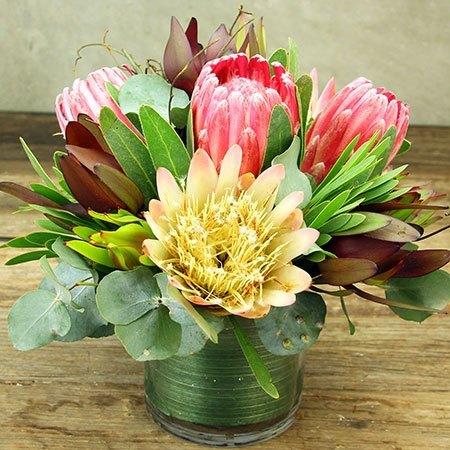 Little Vase of Native Flowers Delivered
