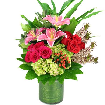 Love and romance vase