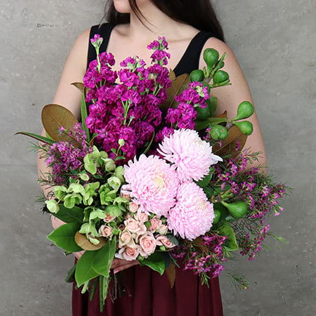 Luscious Flower and Fig Bouquet