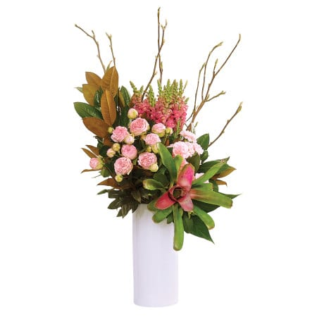 Luscious Pink Tropical Vase