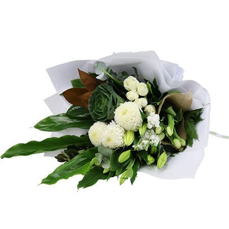 Lush Winter White Bouquet
