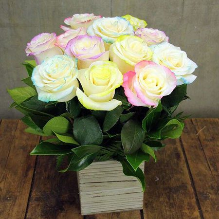 Marshmallow Roses with Free Ecoya Candle (Sydney Only)