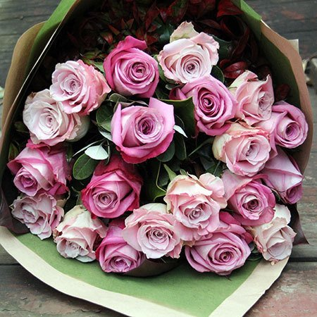 Pink Rose Bouquet (Sydney Only)