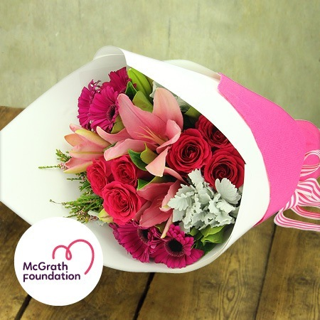 McGrath Foundation Think Pink Bouquet