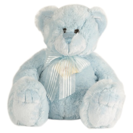 Medium Blue Teddy ( 22cm )