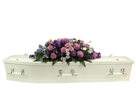 Monets Garden Casket Flowers