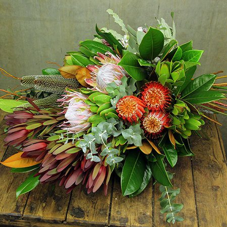 native presentation bouquet