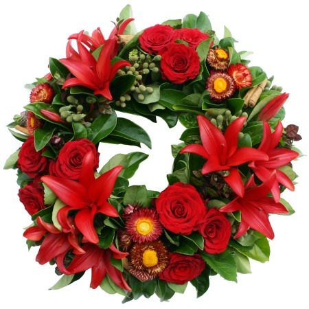 Noel Christmas Wreath