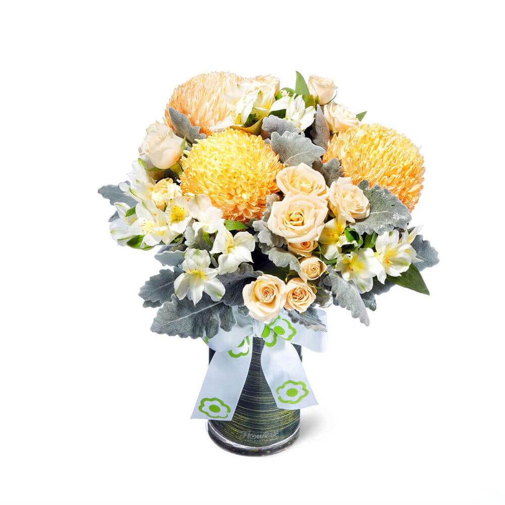 Orange Gelati Flower Vase