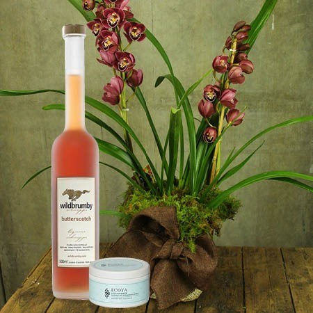 Orchid and Wild Brumby Schnapps