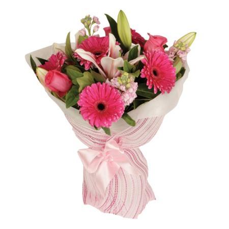 Pastel Pink Lush Bouquet - Flower Bouquets