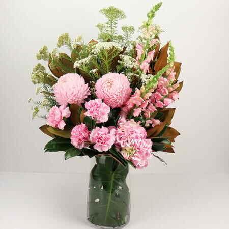 Pastel Pink Flower Vase