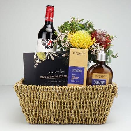 Pour Homme Cabernet Gift Basket
