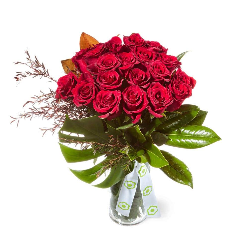 Magnificent Columbian rose vase