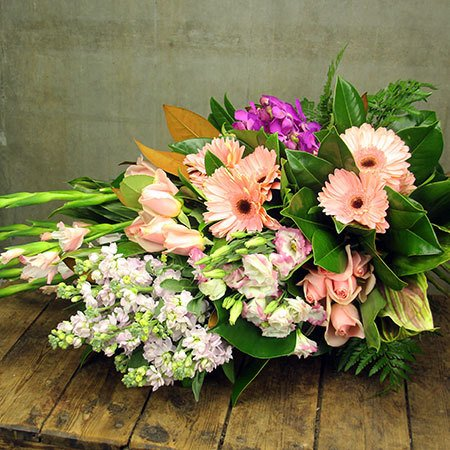 Pretty Pink Presentation Bouquet